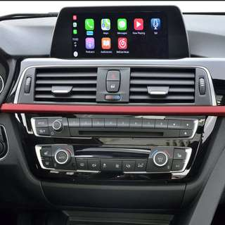 PROMOTION APPLE CARPLAY BMW F30