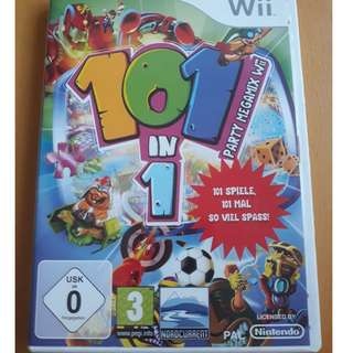101 in 1 party megamix for the Wii (PAL)