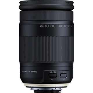 Tamron 18-400mm f/3.5-6.3 Di II VC HLD Lens