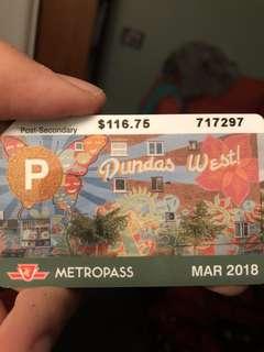 March Metro Pass