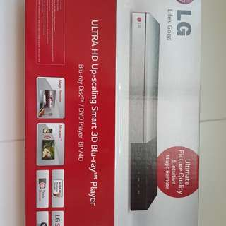 LG BP740 Ultra HD 3D blu-ray player