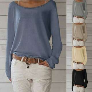 Cotton solid colour shirt. PO. S to 3XL