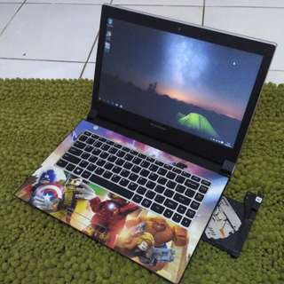 Laptop gaming lenovo Ideapad 305 Dual VGA