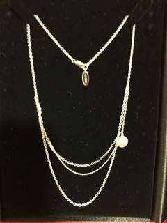 Agnes b 18k necklace