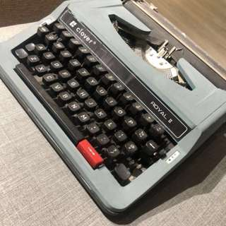 Royal 打字機 古董 古物 舊貨