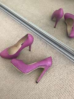Tony Bianco Purple Pumps Heels