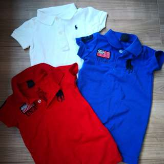 Polo Ralph Polo Rompers