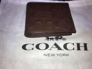 Coach Wallet 壓花真皮 全新購自法國 保證真品