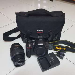 Nikon D5300 DSLR Camera with kit lens