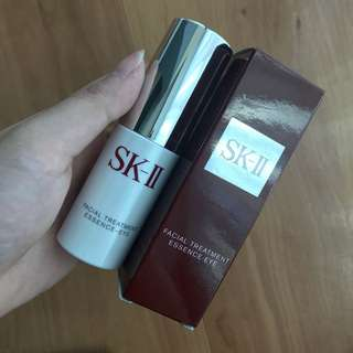 SK-II (SK 2) Facial Treatment Essence Eye 15ml (FREE BAG + FT MASK + FT CLEAR LOTION 30ml)