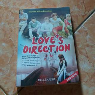 "Novel One Direction ""Love's Direction"""