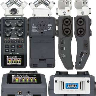 Zoom H6 Handy Recorder | Audio Equipment | Video Making | Music Recording | Live Recording [Brand New] [Warranty]