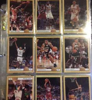 MINT CONDITION - NBA AUTHENTIC TRADING CARDS FOLDER WITH LIMITED EDITION CARDS 2/2