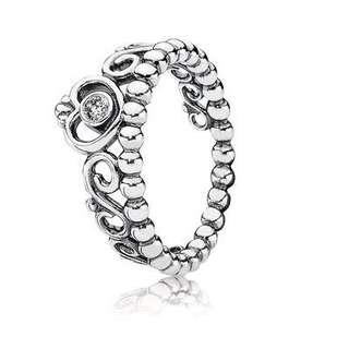 Authentic Pandora Princess Tiara Ring