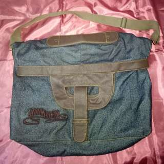 Two Tone Denim Bag (Langka)