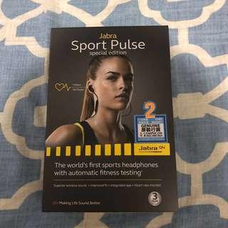 [全新] Jabra Sport Pulse 藍牙心律偵測耳機 (特別版)