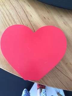 Heart shape stand