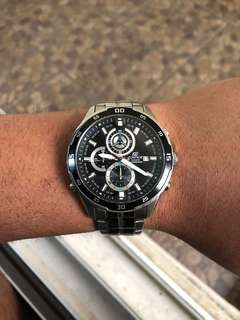Casio Edifice Watch EFR-547 Stainless Steel Authentic Ori