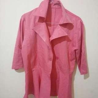 Baju pink size M