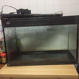 (Price reduced)3 Feet Glass Fish Tank