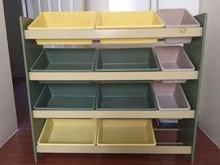 Japan Made Toys/Book Shelf-Organizer