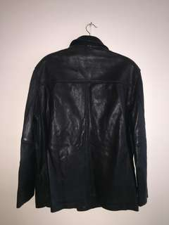 VINTAGE BALENCIAGA LEATHER JACKET