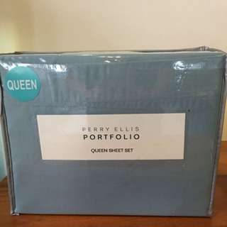Perry Ellis Queen Sheet Set