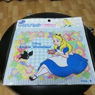 Disney Alice in wonderland 迪士尼愛麗絲 mouse pad 滑鼠墊