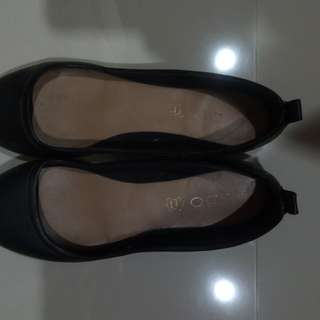Aldo School/Office Black Shoes