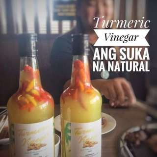 NATURAL TURMERIC VINEGAR