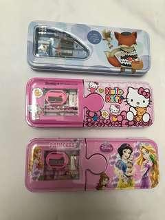 Pencil case kotak pensil Princess Hello Kitty
