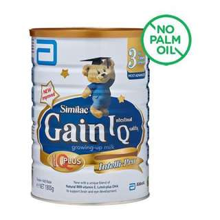 Similac Gain Stage 3, Singapore stock, price after 10% discount for 2 pcs and above.