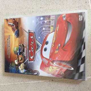 Cars and Cars2 DVD
