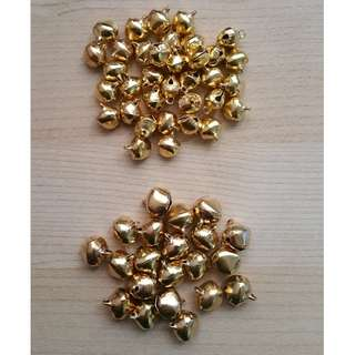 Gold Bells (10mm / 12mm)
