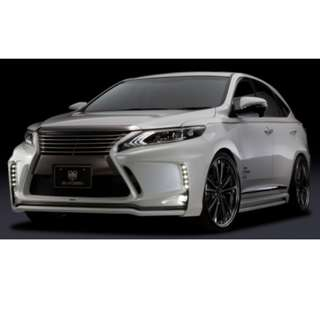 Toyota Harrier 2015 Silk Blaze Bodykit