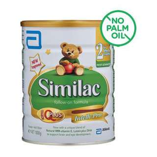 Abbott Similac Stage 2 Milk Powder, Singapore stock, price after 10% discount for 2 pcs and above.