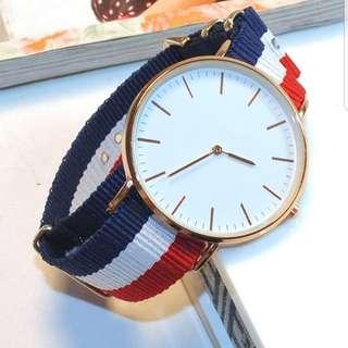 🚚 Unisex stripe watch