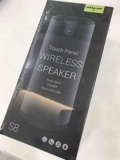 Brand New and Sealed / ZEALOT S8 Portable Wireless Bluetooth Speaker / PowerBank / Calls