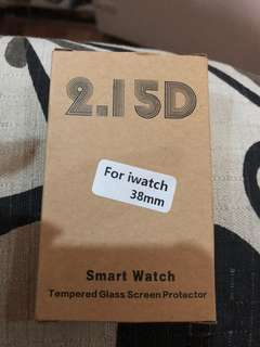 Tempered glass for Iwatch 38mm