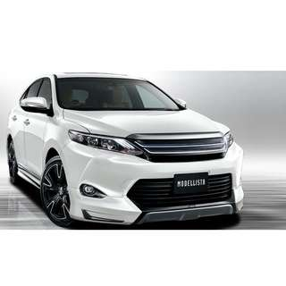 Toyota Harrier 2015 Modellista Version 2 Bodykit