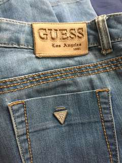 Original Guess Jeans (faded fits size 26-27)