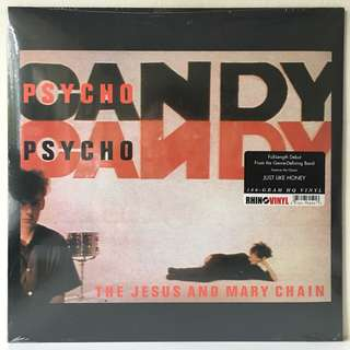 The Jesus And Mary Chain – Psychocandy (2017 USA 180g Reissue - SEALED - MINT)
