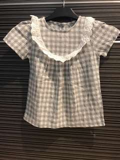 Sweet Checkered Top $10