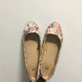 *REPRICED H&M Floral Doll Shoes