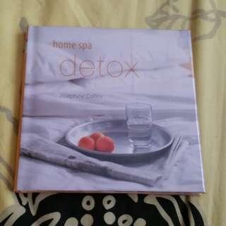 Home Spa Detox Book