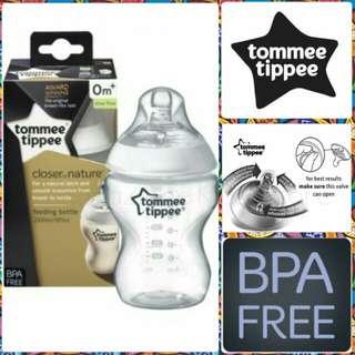 (single box) Tommee Tippee Plain Bottle 9oz/260ml