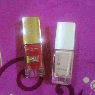 Nail polish+ nail shield