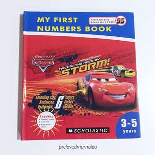 NEW! Kids Number Book 3-5years