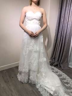 拖尾婚紗 wedding dress