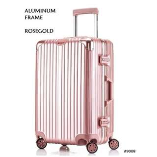 Two pcs Rimowa luggage similar-look 26inch aluminum frame&20inch zipper frame 9008/1008